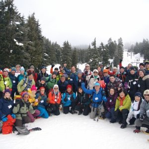 Mt Seymour Fun Snow Cave Event