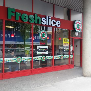 FreshSlice Pizza 132 west esplanades