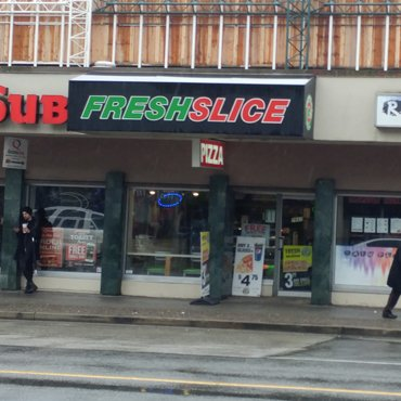 FreshSlice Pizza 2582 commercial drive